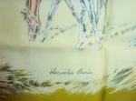 La jument et son poulain Xavier de Poret pour Hermès