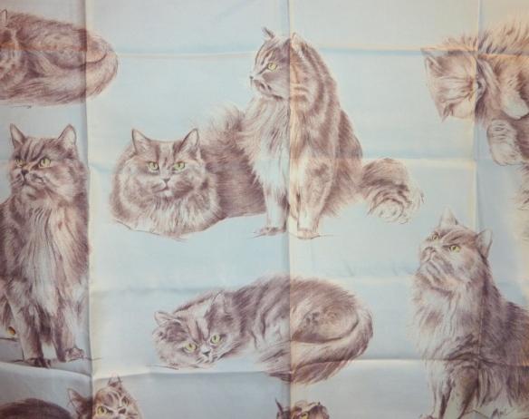 Xavier de Poret Les chats angoras