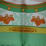 Nikko bord vert Hermès Catherine B-002