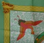 Nikko bord vert Hermès Catherine B-005