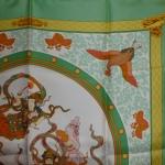 Nikko bord vert Hermès Catherine B-007