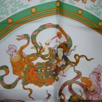 Nikko bord vert Hermès Catherine B-008