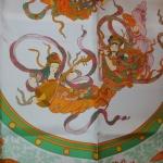 Nikko bord vert Hermès Catherine B-009