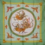 Nikko bord vert Hermès Catherine B