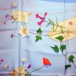Des fleurs pour le dire (bleu) 2