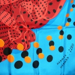 Hola flamenca (turquoise orange)-3