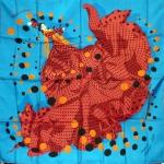 Hola flamenca (turquoise orange)1