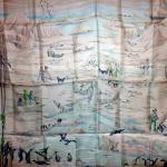 Hommage à l'explorateur Sir Ernest Shackleton (bleu) 1